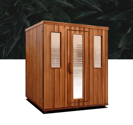 RESTORE SERIES Want to sweat fast with two levels? The elevated health will allow just that. Our unique bi-level sauna is perfect for multiple people to enjoy the sauna at the same time. With two rows of bench seating, a couple can recline alone on each level or enjoy the sauna with your entire family. There's no other infrared sauna like the elevated health by Health Mate.